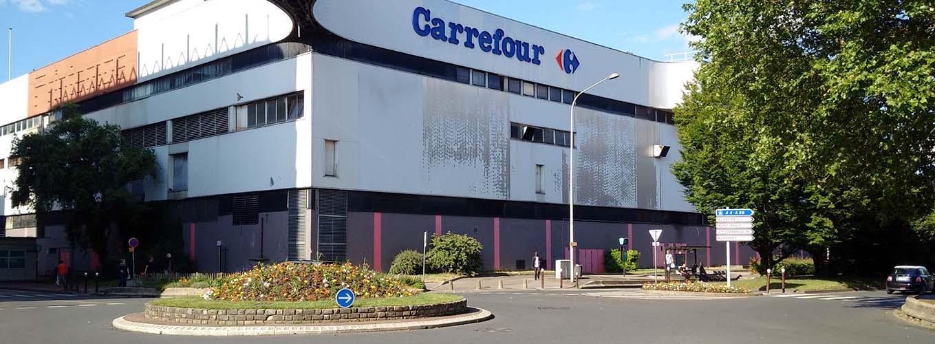 Vue du centre commercial Créteil Soleil